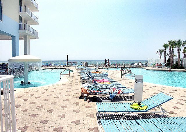 Poolside by the Gulf