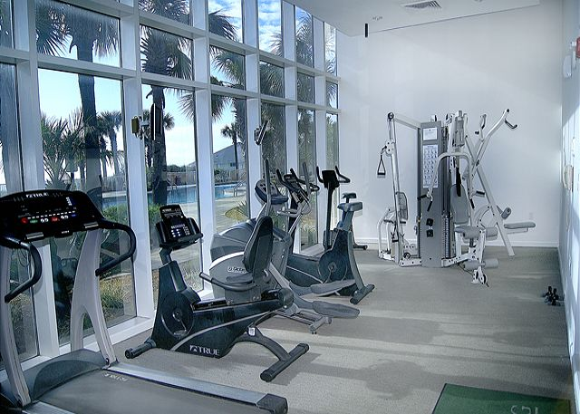 FITNESS CENTER WITH A BEACH VIEW!