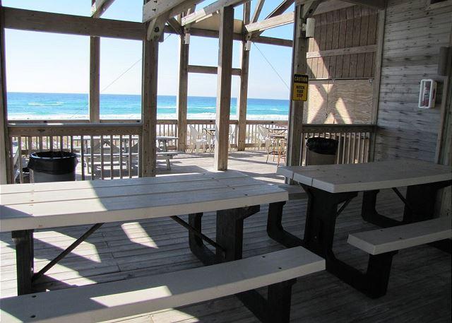 Private Beach Pavilion for Emerald Shores