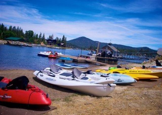Across the Street from this awesome Marina with Lake access and