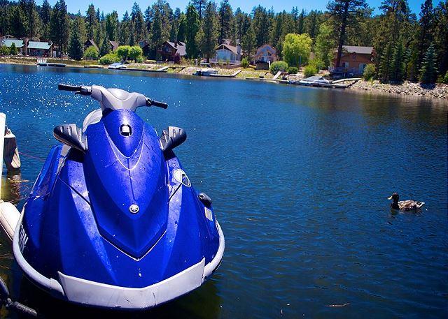 Private Dock for Jet Ski or Boat!
