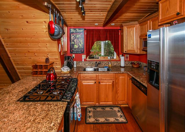 Kitchen with Stainless Steel Appliances all amenities needed in a standard kitchen