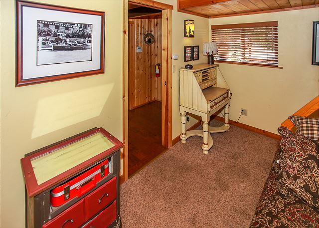 Bedroom #2 located on Main floor Twin over Full Bunk Bed