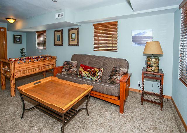 Game room - foosball table -  located on Bottom floor
