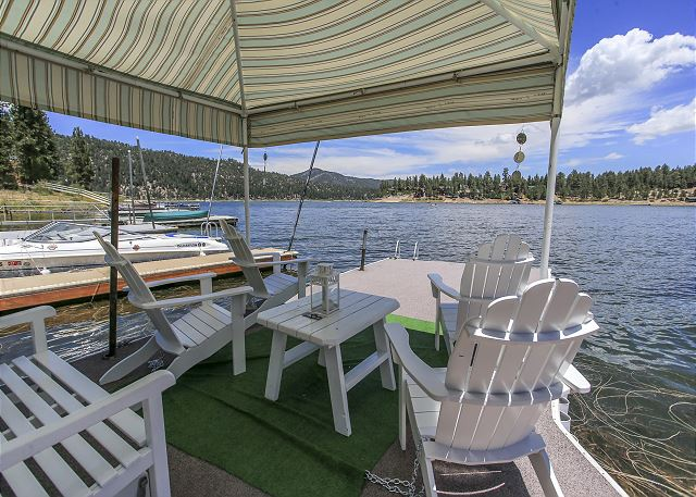 Best Boat Dock on the lake!