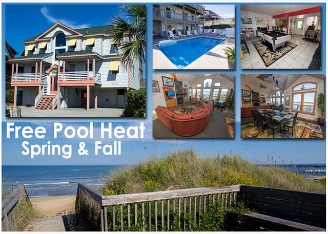 Big Daddy s   1204. Heated Pool Outer Banks Rentals   Outer Banks Vacation Rentals