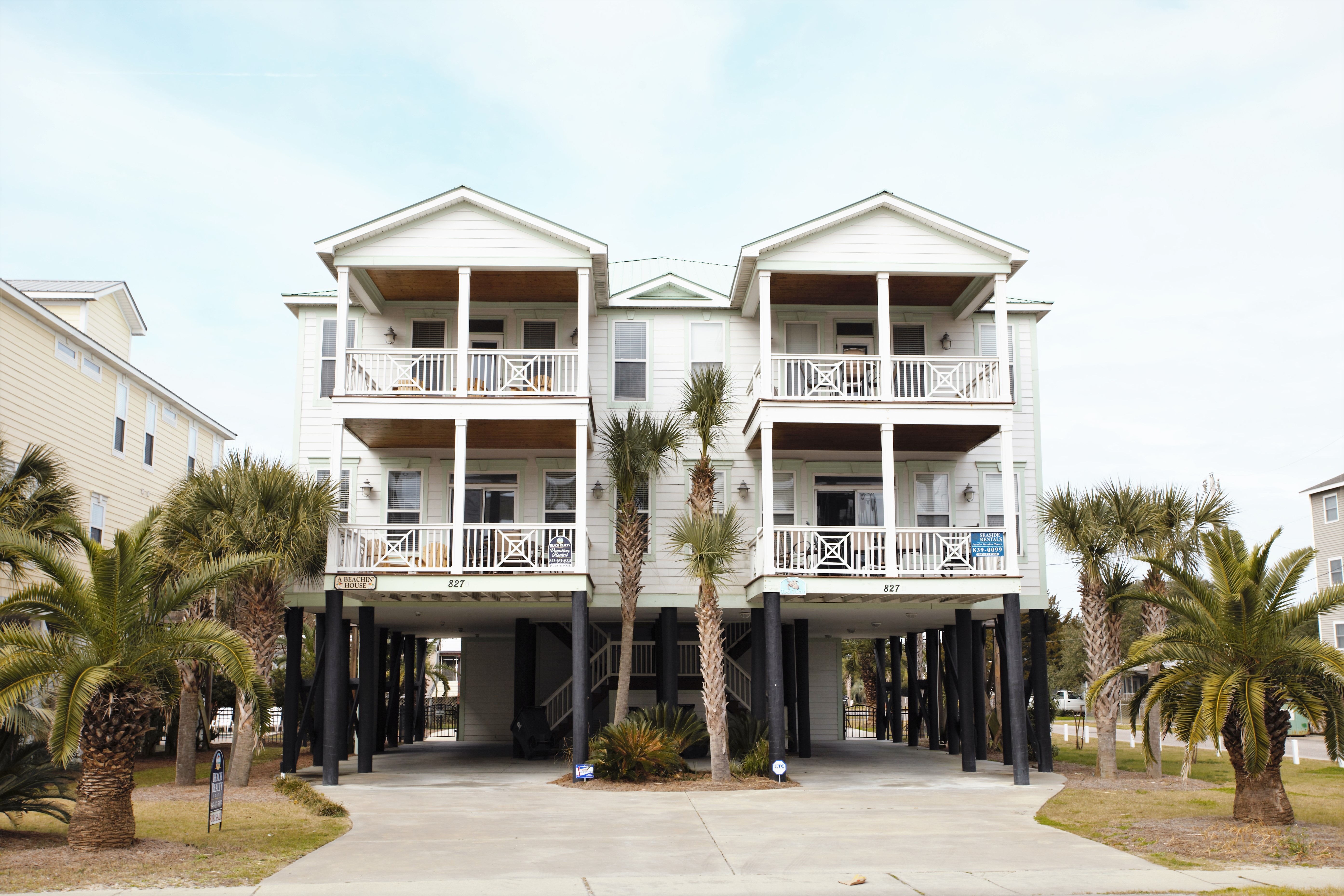 A Beachinu0027 House 827A N. Waccamaw Dr., Garden City, SC 29576. Beach Realty