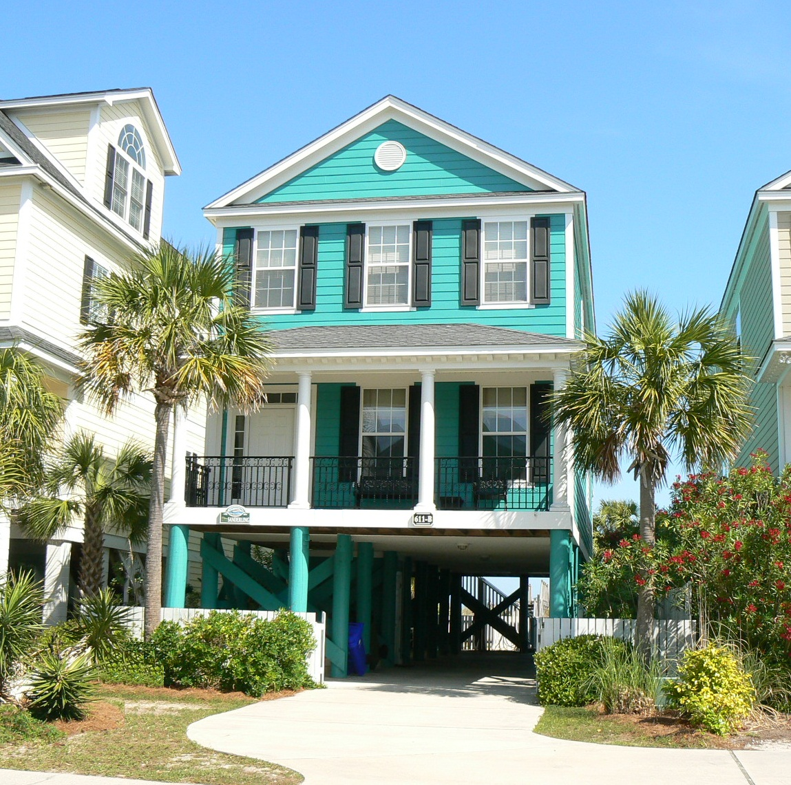 Beach Houses For Rent In Ocean City: Sanderling 611B N. Ocean Blvd., Surfside Beach, SC 29575