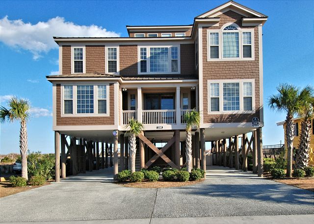 Garden City Myrtle Beach Surfside Vacation Rentals Real Estate Beach Realty