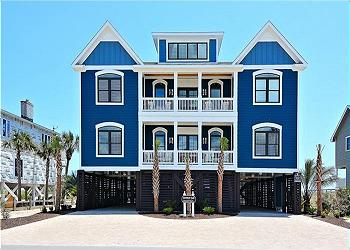 oceanfront beach houses for rent in myrtle beach south carolina