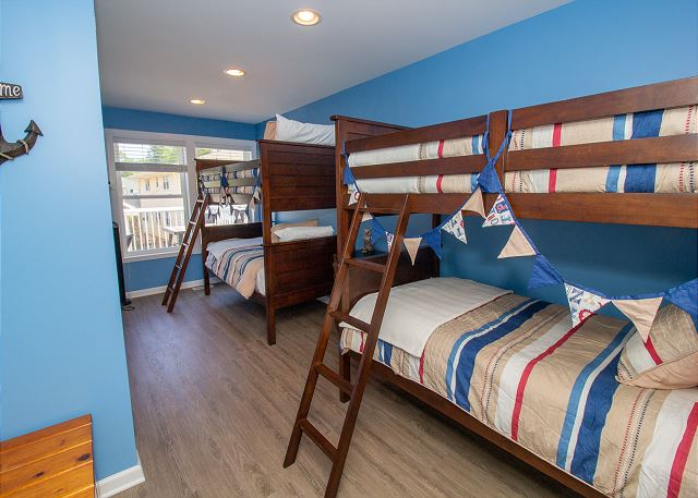Second level bunk room
