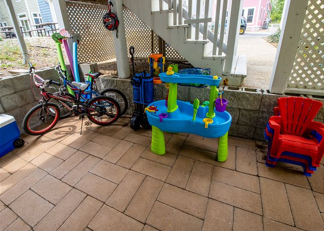 Children's outside play area