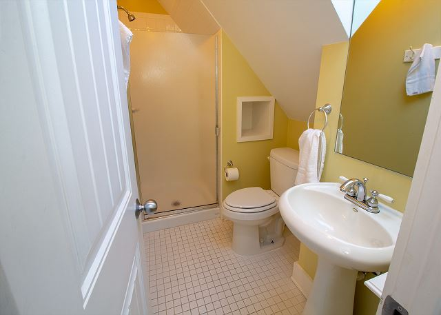 Second floor with stand up shower