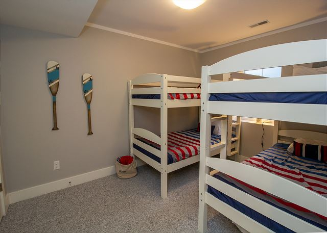 Basement twin bunks