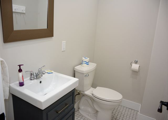 1/2 Bath lower level