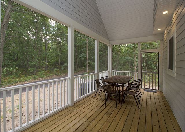 Back screened in porch