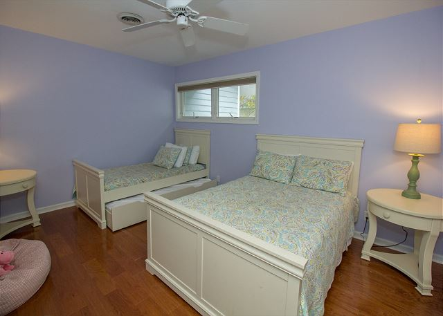 Third floor Full and twin with trundle bedroom