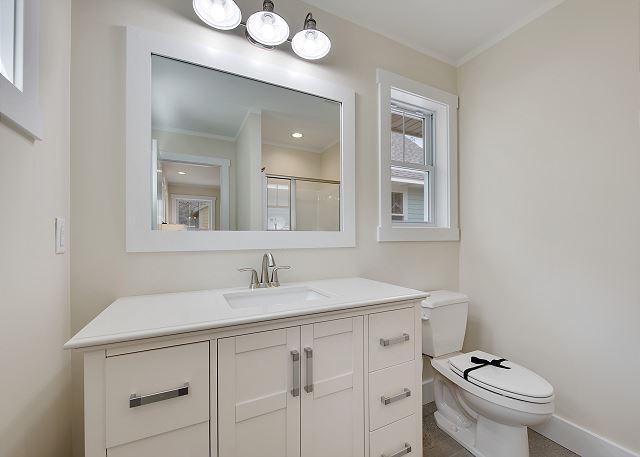 Bathroom on second level