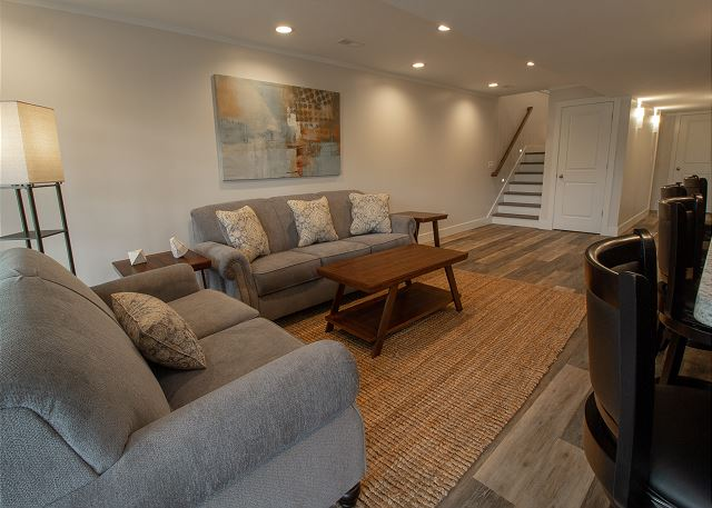 Basement Gathering Space