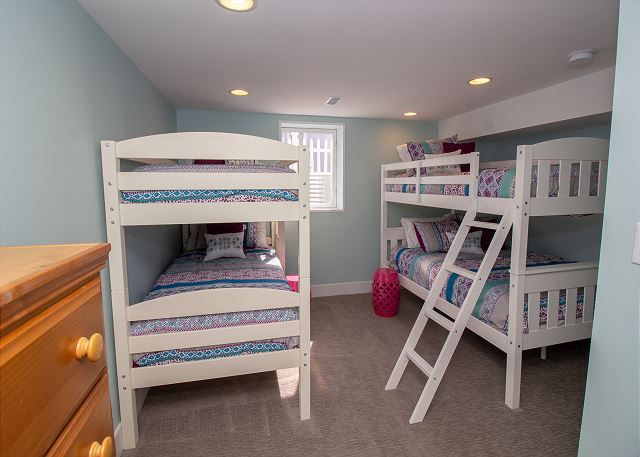 Garden Level Bunk Room