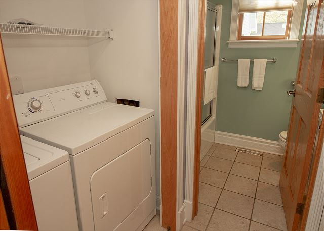 Guest House Laundry and Full Bath
