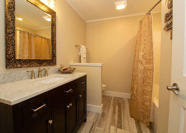 Basement full bath room