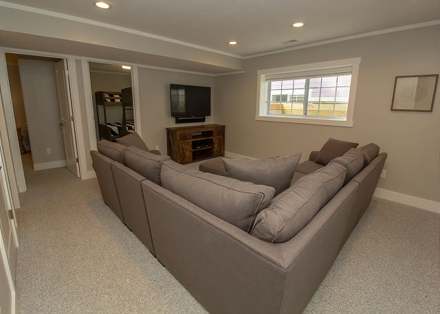 Basement Living Space