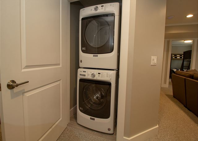 Basement Level Laundry
