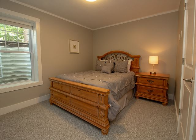 Basement Queen Bedroom with Trundle
