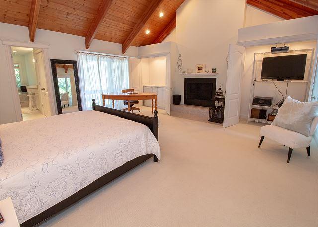 Second floor Bedroom #4 King Master Suite with wet bar