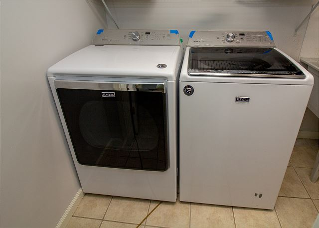 Ground floor washer and dryer