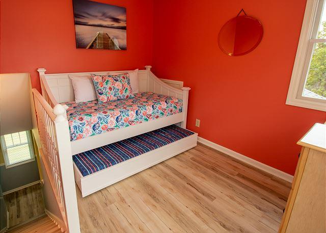 Third floor twin trundle bed