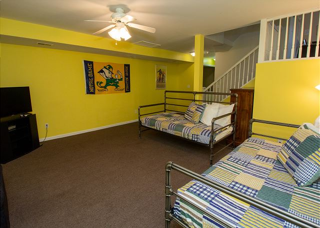 Basement day beds