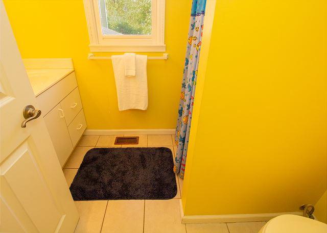 Second floor 3/4 hall bath