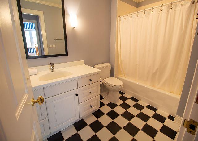 Second level #1 full bathroom