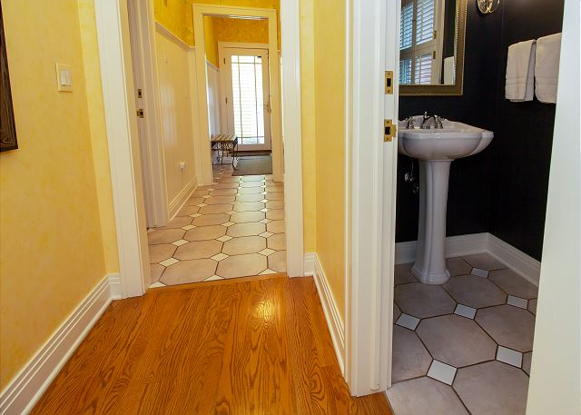 Main Level hall powder room
