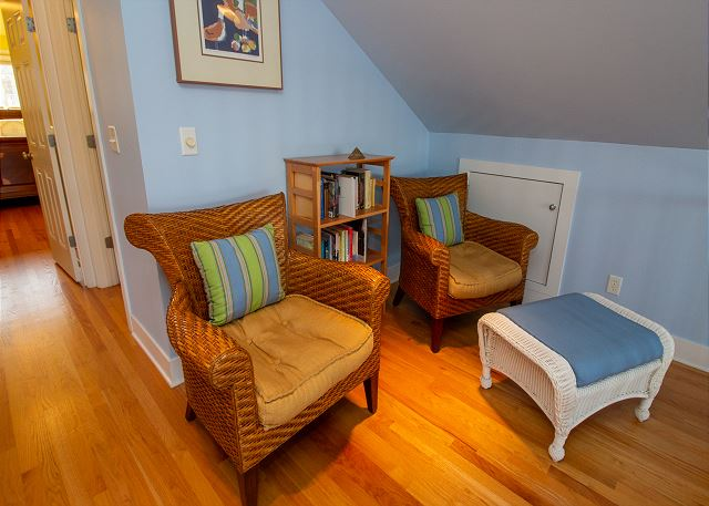 Second floor landing reading nook