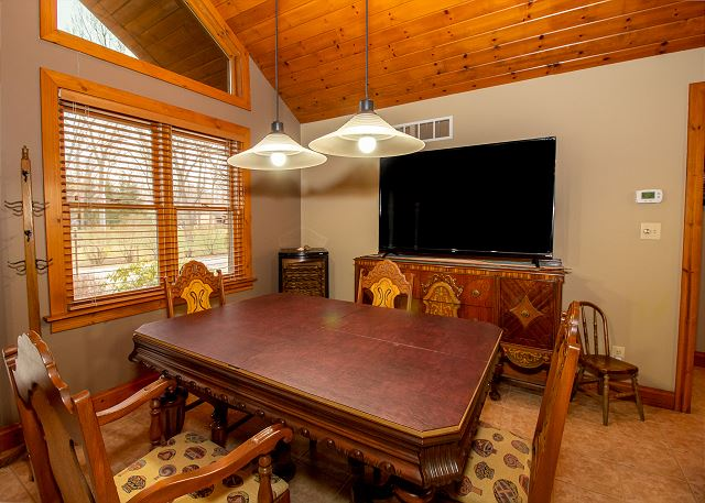 Dining table seating for four with 75