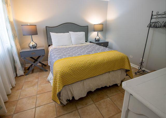 Ground Floor Bedroom #4 - Queen bed with TV