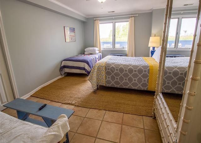 Ground Floor Bedroom #6 - 1 twin and 1 queen