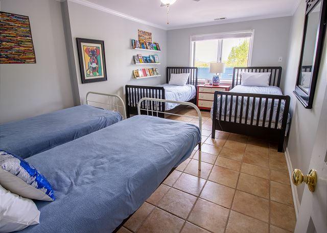 Ground Floor Bedroom #3- 4 twins