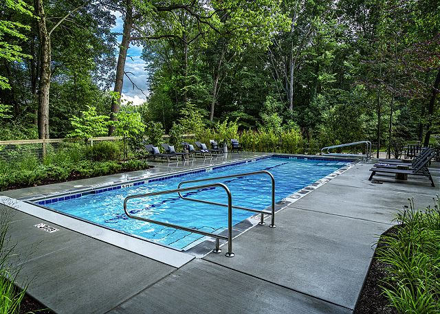 Community Pool View 2