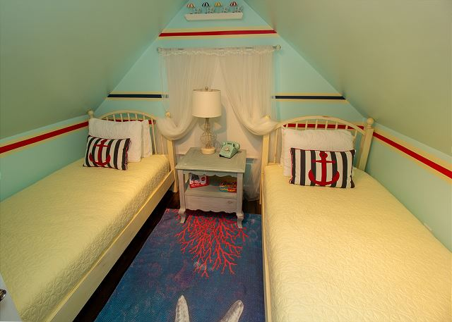 Second Floor Bedroom Two Twins