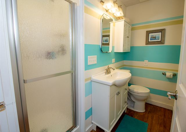 3/4 Private Bath Attached to King Bedroom