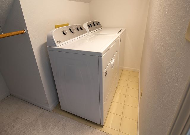 Second level Washer dryer
