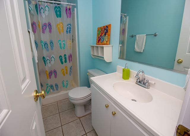 main level 3/4 bath