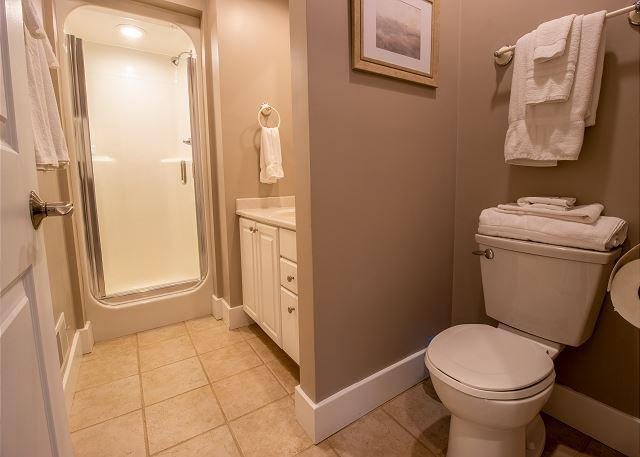 Second Level 3/4 hall bathroom