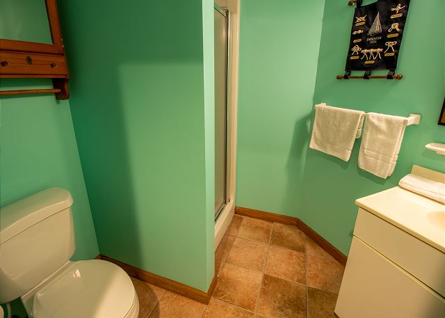 Basement hall 3/4 bathroom