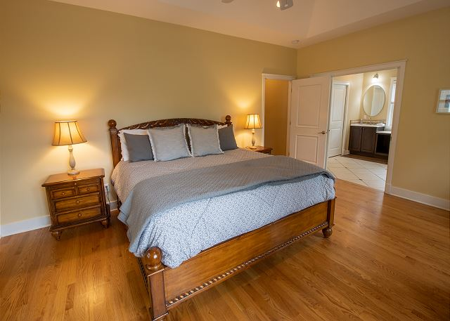 Second level #5 - King bed with attached full bathroom