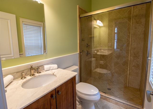 Attached 3/4 bathroom